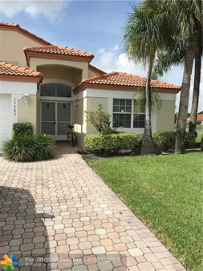 Delray Beach Condo/Townhouse For Sale: 15383 Summer Lake Dr #15383