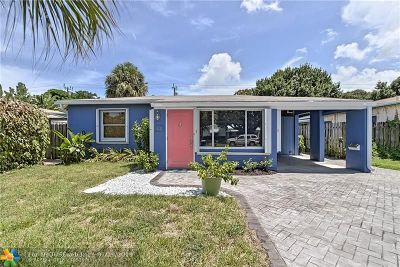 Fort Lauderdale Single Family Home For Sale: 618 SW 18th Ct