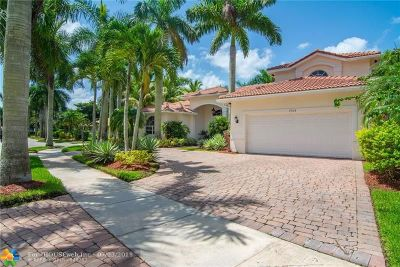 Weston Single Family Home For Sale: 1908 Harbor Point Circle