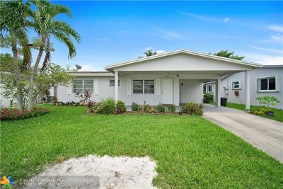 Margate Single Family Home For Sale: 6950 NW 11th Ct