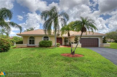 Coral Springs Single Family Home For Sale: 12061 NW 2nd Dr