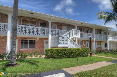 Pompano Beach Condo/Townhouse For Sale: 801 Pine Dr #4