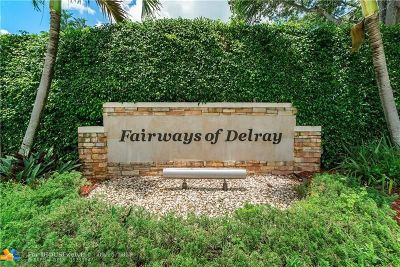 Delray Beach Single Family Home For Sale: 709 Birdie Ct
