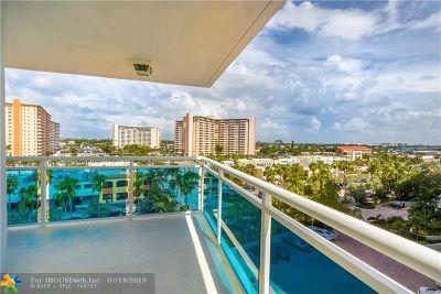 Fort Lauderdale Condo/Townhouse For Sale: 3430 Galt Ocean Dr #701
