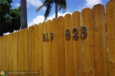 Fort Lauderdale Multi Family Home Backup Contract-Call LA: 819 NE 14th Ct