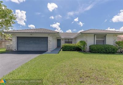 Coral Springs Single Family Home Backup Contract-Call LA: 1280 NW 112th Way