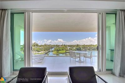 Fort Lauderdale Condo/Townhouse For Sale: 353 Sunset Dr #401