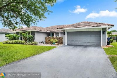 Coral Springs Single Family Home For Sale: 664 NW 99th Ter