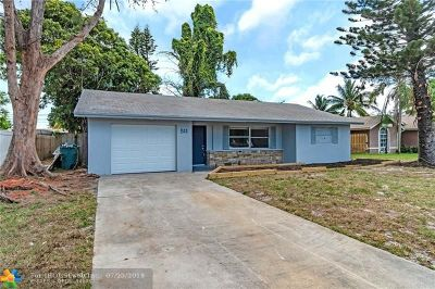 Boynton Beach Single Family Home For Sale: 511 NW 7th Ct