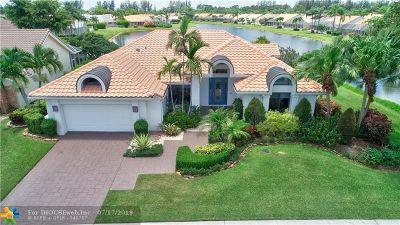 Boynton Beach Single Family Home For Sale: 7621 Dorchester Rd