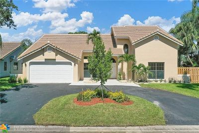 Coral Springs Single Family Home Backup Contract-Call LA: 5621 NW 66th Ave