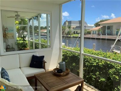 Lighthouse Point Condo/Townhouse For Sale: 3050 NE 48th Ct #101