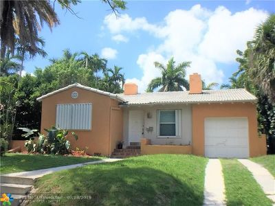 Miami Single Family Home For Sale: 810 NE 75th St