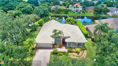 Coral Springs Single Family Home For Sale: 5716 NW 50th St