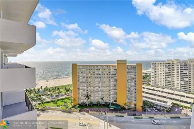 Pompano Beach Condo/Townhouse For Sale: 405 N Ocean Blvd #1828