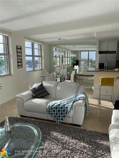 Boca Towers, Boca Towers Condo, Boca Towers Condo Portion Rental For Rent: 2121 N Ocean Blvd #1209W
