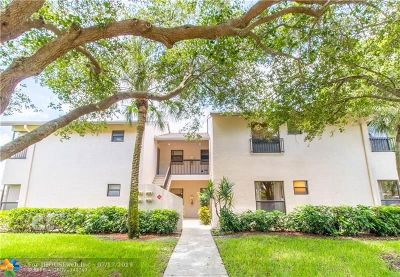 Coconut Creek Condo/Townhouse For Sale: 3470 NW 47th Ave #3119