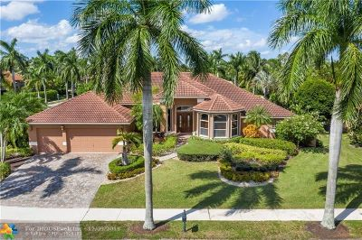 Weston Single Family Home For Sale: 2708 Cypress Mnr