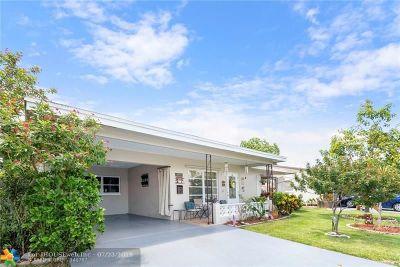 Tamarac FL Single Family Home For Sale: $189,900