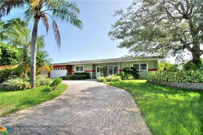 Fort Lauderdale Single Family Home For Sale: 5320 NE 16th Ter