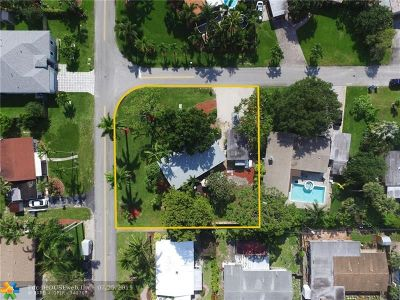 Wilton Manors Single Family Home Backup Contract-Call LA: 2809 NE 1st Ave