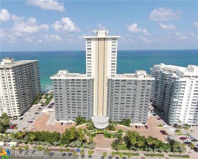Fort Lauderdale Condo/Townhouse For Sale: 3500 Galt Ocean Dr #711