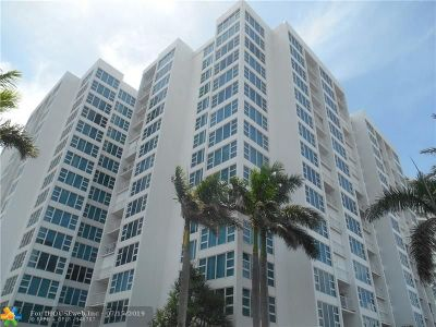 Pompano Beach Condo/Townhouse For Sale: 1620 S Ocean Blvd #12-J