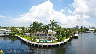 Fort Lauderdale Single Family Home For Sale: 616 1st Key Dr