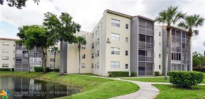 Tamarac Condo/Townhouse For Sale: 1820 SW 81st Ave #3406