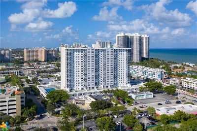 Fort Lauderdale Condo/Townhouse For Sale: 3015 N Ocean Blvd #6B