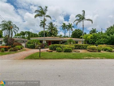 Wilton Manors Single Family Home For Sale: 211 NE 29th St