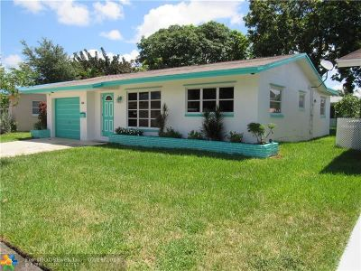 Tamarac FL Single Family Home For Sale: $225,900