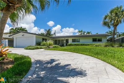 Fort Lauderdale Single Family Home For Sale: 2031 NE 55th St