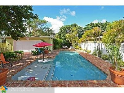 Fort Lauderdale Single Family Home For Sale: 2309 N Atlantic Blvd