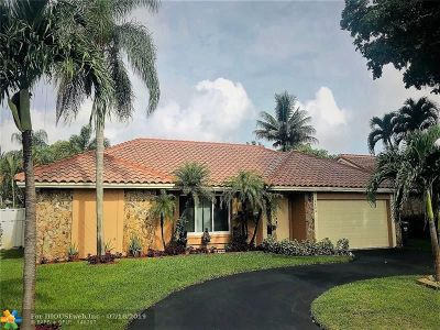 Coral Springs Single Family Home For Sale: 5124 NW 66 Ln