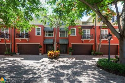 Fort Lauderdale Condo/Townhouse For Sale: 1839 NE 26th Ave #1839
