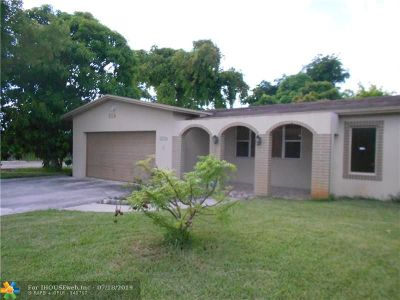 Miramar Single Family Home For Sale: 6545 SW 24th St