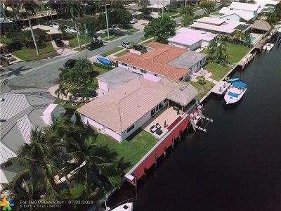 Pompano Beach Single Family Home For Sale: 361 SE 9th Ct
