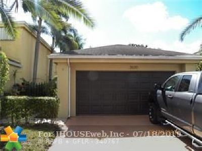 Coconut Creek Single Family Home For Sale: 3630 NW 20th St
