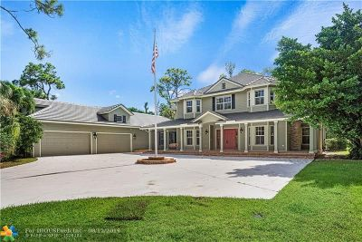 Parkland Single Family Home For Sale: 6502 NW 63rd Way