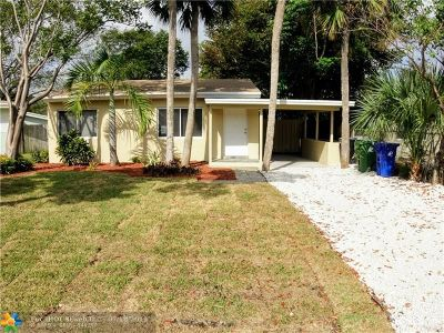 Fort Lauderdale Single Family Home For Sale: 1209 NW 7th Ave