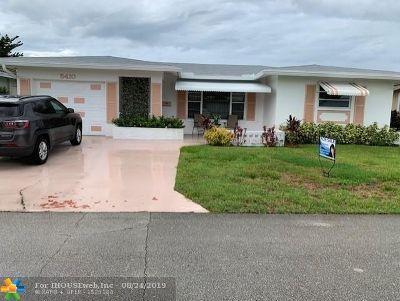 Tamarac FL Single Family Home For Sale: $257,750