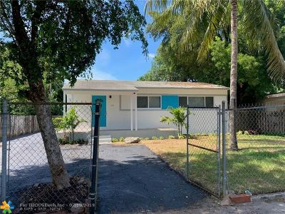 Fort Lauderdale Single Family Home For Sale: 735 NW 17th St