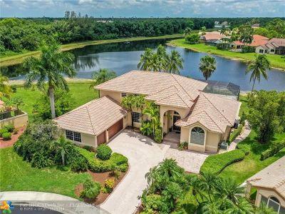 Weston Single Family Home For Sale: 595 Coconut Cir