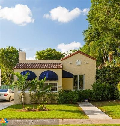 Coral Gables Single Family Home For Sale: 1143 Venetia Ave