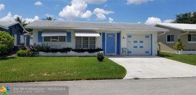 Tamarac FL Single Family Home For Sale: $179,000