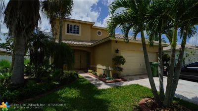 Pembroke Pines Single Family Home For Sale: 20565 SW 2nd St