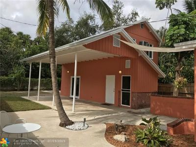 Fort Lauderdale Single Family Home For Sale: 1601 SW 20th Ave