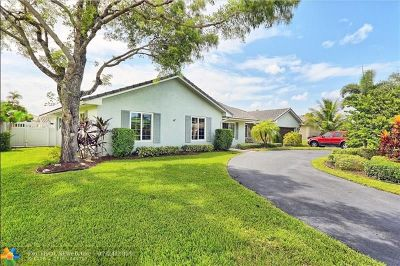 Coral Springs Single Family Home For Sale: 2880 NW 115th Ter