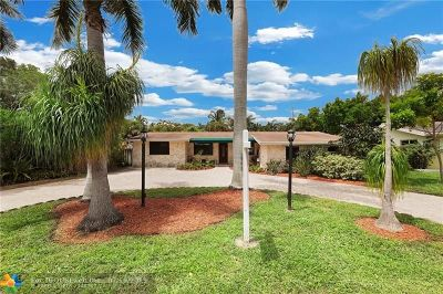 Wilton Manors Single Family Home For Sale: 1520 NE 28th Dr
